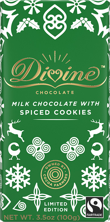 Image of Limited Edition Milk Chocolate with Spiced Cookies Packaging