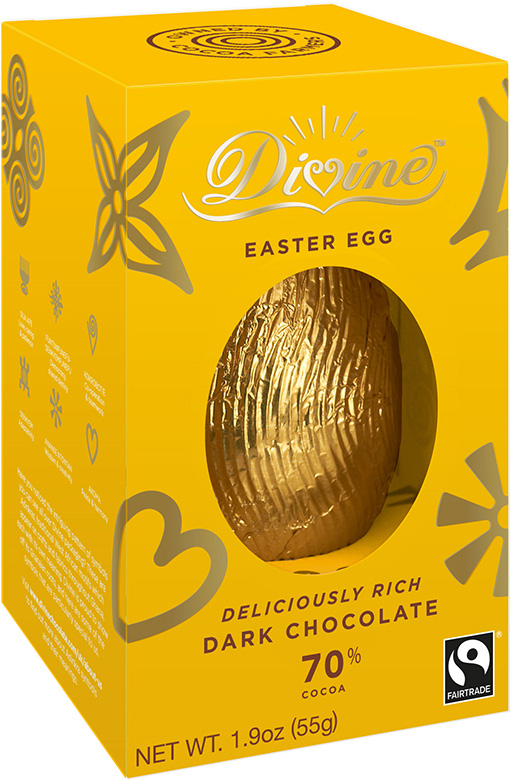 Image of Dark Chocolate Easter Egg Packaging
