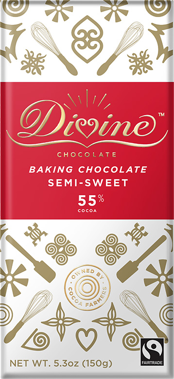 Image of 55% Semi-Sweet Baking Chocolate Packaging