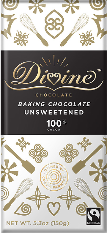 Image of 100% Unsweetened Baking Bar Packaging