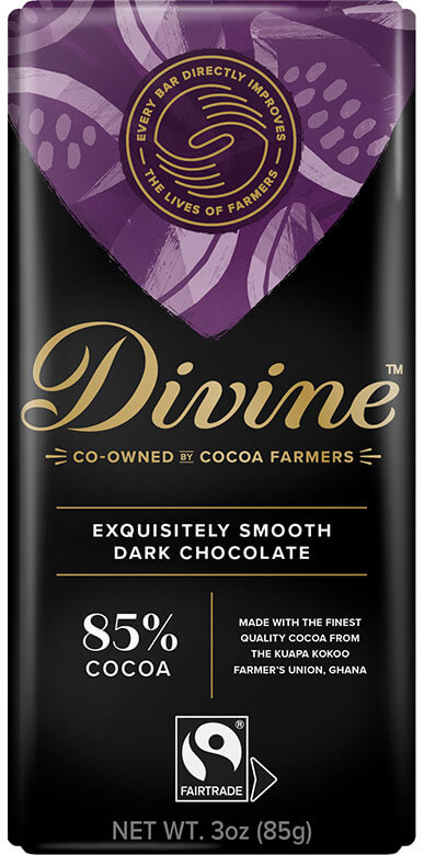 Image of 85% Dark Chocolate Packaging