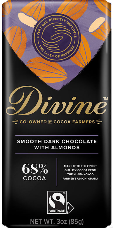 Image of Dark Chocolate with Almonds Packaging