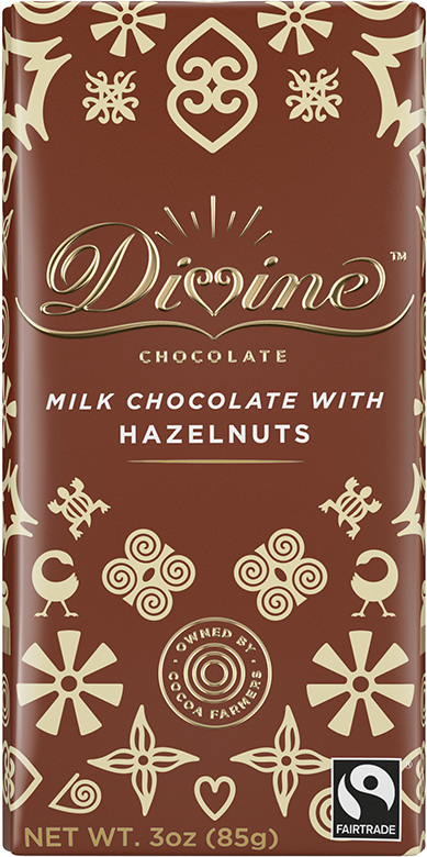 Image of Milk Chocolate with Hazelnuts Packaging