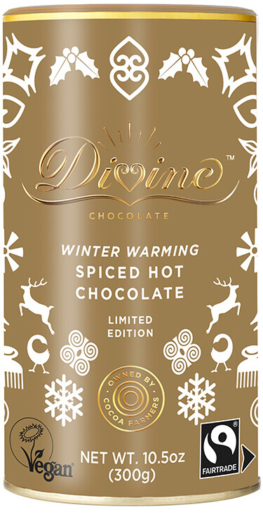 Image of Winter Warming Spiced Drinking Chocolate Packaging