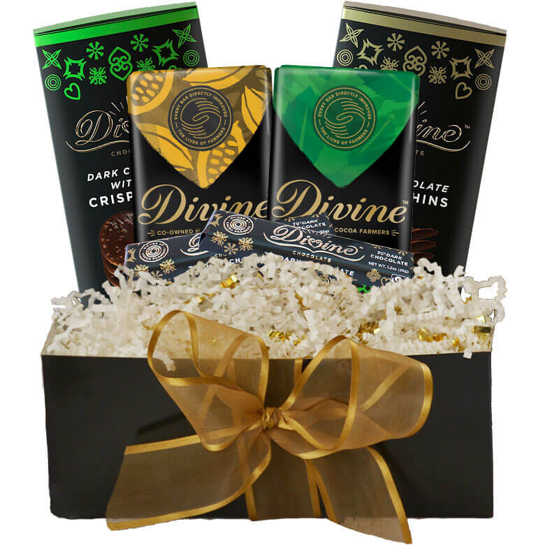 Image of Dark Chocolate Lovers Gift Set Packaging