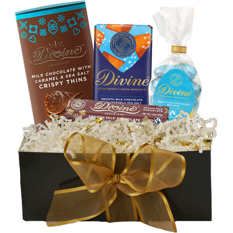 Image of Milk Chocolate Easter Gift Set Packaging