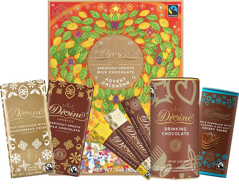 Image of Milk Chocolate Lovers Holiday Variety Pack Packaging