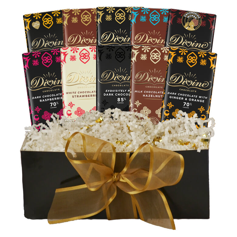 Image of Divine Classics 10-Bar Gift Set Packaging