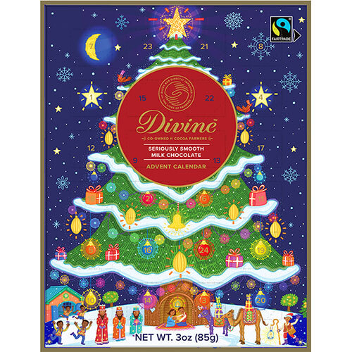 Milk Chocolate Advent Calendar - Click for more information, or use your TAB key to go to purchase options