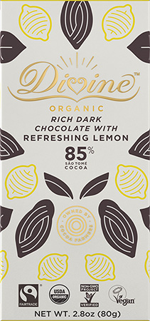 Click to buy 85% Dark Chocolate with Refreshing Lemon