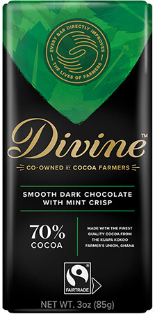 Click to buy 70% Dark Chocolate with Mint Crisp