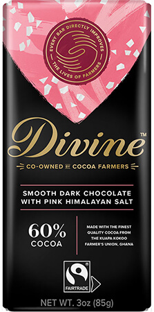 Click to buy 60% Dark Chocolate with Pink Himalayan Salt