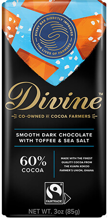 Click to buy 60% Dark Chocolate with Toffee & Sea Salt