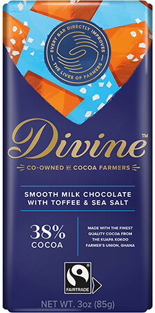 Click to buy Milk Chocolate with Toffee and Sea Salt