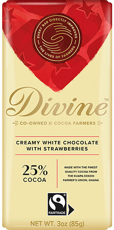 Click to buy White Chocolate with Strawberries