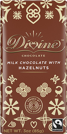 Click to buy Milk Chocolate with Chopped Hazelnuts
