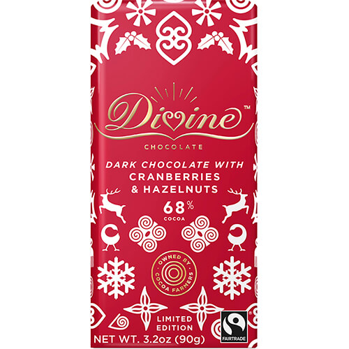 Limited Edition Dark Chocolate with Cranberries & Hazelnuts - Get More Information