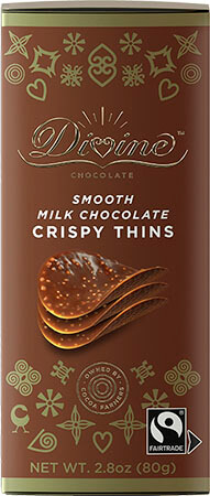 Milk Chocolate Crispy Thins - Click for more information, or use your TAB key to go to purchase options