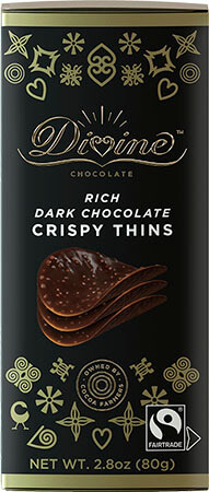 Dark Chocolate Crispy Thins - Click for more information, or use your TAB key to go to purchase options
